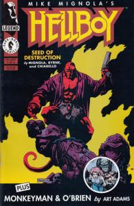 Hellboy-Seed of Destruction 1