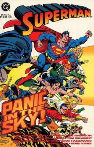 Superman-Panic in the Sky TPB