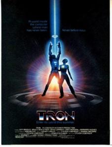 Tron movie poster onesheet
