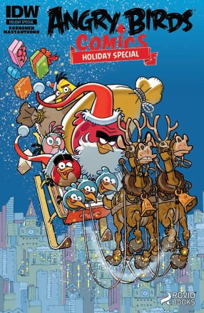 Angry Birds Comics Holiday Special 1