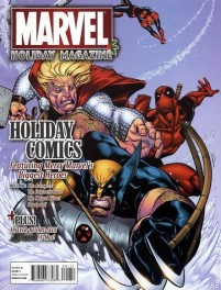 Marvel Holiday Magazine b