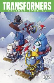 TransFormers Holiday Special 1a