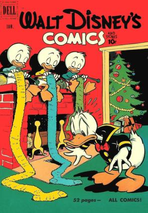 Walt Disneys Comics and Stories 124
