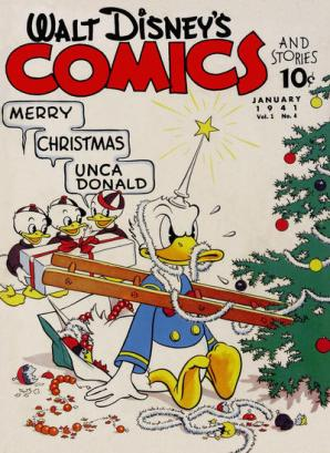 Walt Disneys Comics and Stories 4