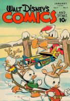 Walt Disneys Comics and Stories 76