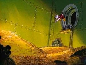 Money Bin Interior