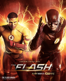 The_Flash_season_3_poster_-_Lightning_strikes_twice