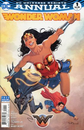 Wonder Woman V5 Annual 1