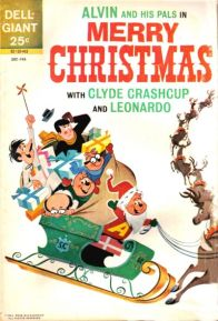 Alvin and His Pals in Merry Christmas with Clyde Crashcup and Leonardo