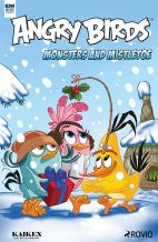 Angry Birds-Monsters and Mistletoe