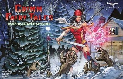 Grimm Fairy Tales 2017 Holiday Special Wraparound